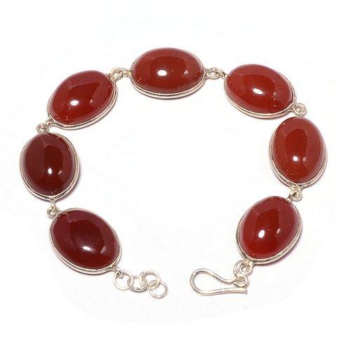 Carnelian Gemmstone Bracelete