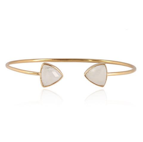 Rainbow Moonstone Gemstone Bracelete