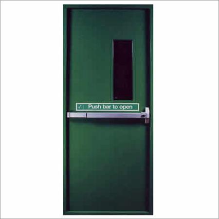 Panic Push Bar Doors