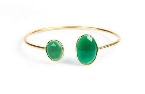 Green Onyx Gemstone Bracelete