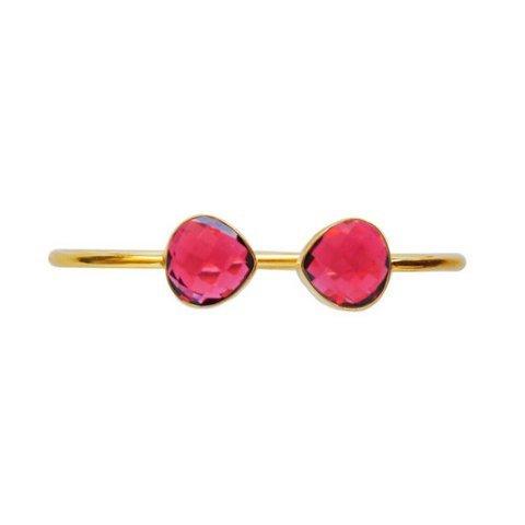 Ruby Hydro Gemstone Bracelete