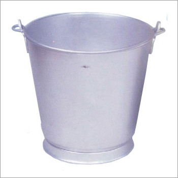 Aluminium Bucket (Plastic Shape)