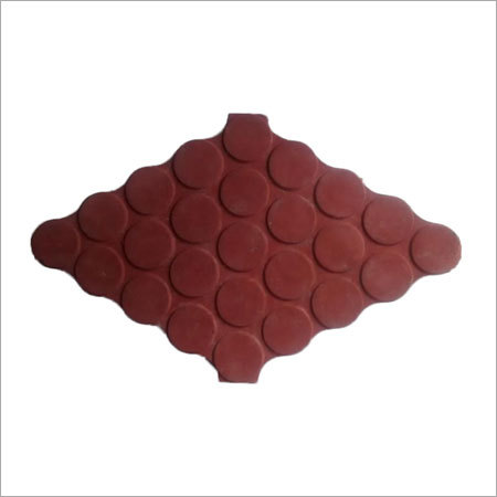 Checker Plate Polka Tiles