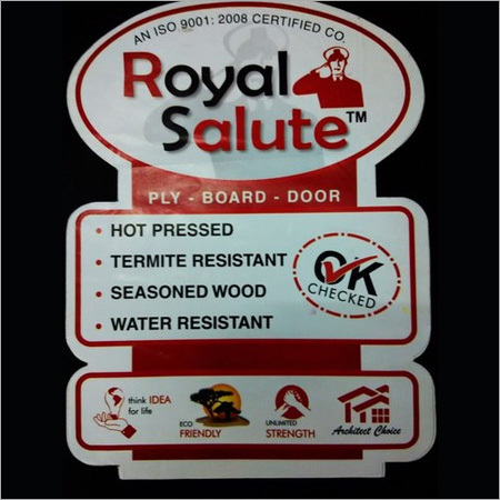 Royal Salute Plyboard