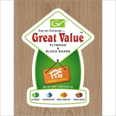 Great Value Plywood