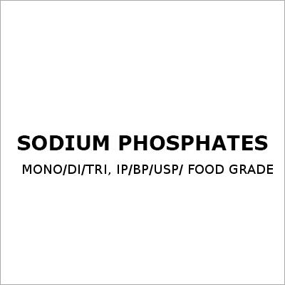 Sodium Phosphates