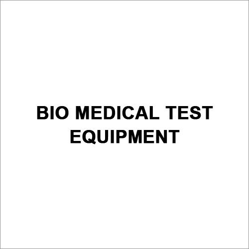 Bio Medical Test Equipment