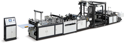 Non Woven Tridimensional Box Bag Making Machine