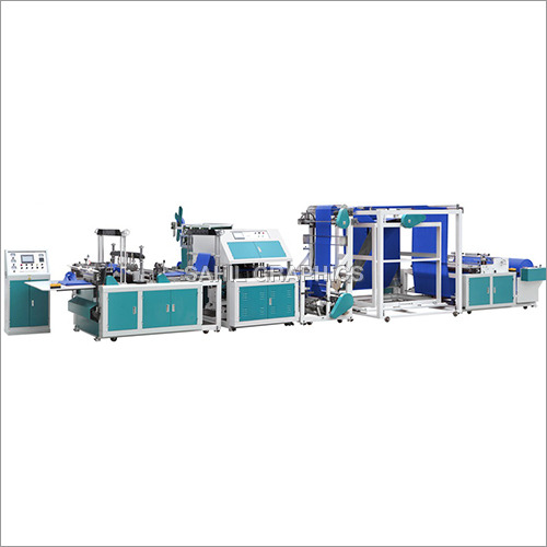 Automatic Non Woven Bag Making Machine With Online