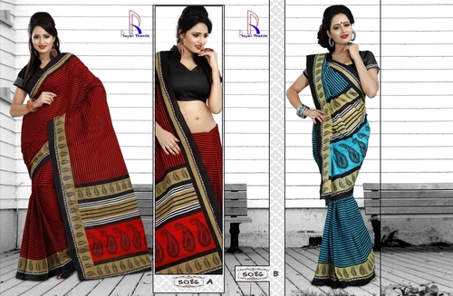 Trendy Cotton Sarees
