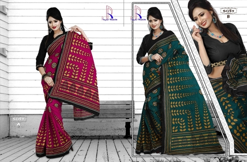 Latest Cotton Saree
