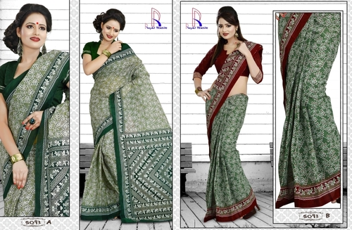 Cotton Saree in Jetpur