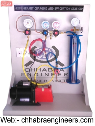 Refrigerant Charging and Evacuation Station