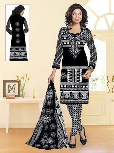 Black & White Cotton Dresses