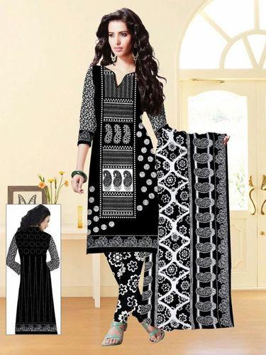 Black And White Salwar Kameez