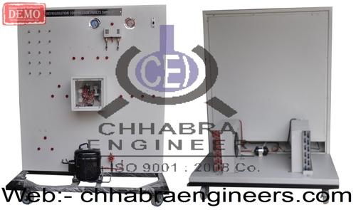 Refrigerant Compressor Fault Simulator