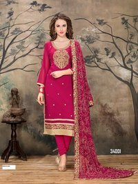 sethnic georgette heavy suit wholesaler