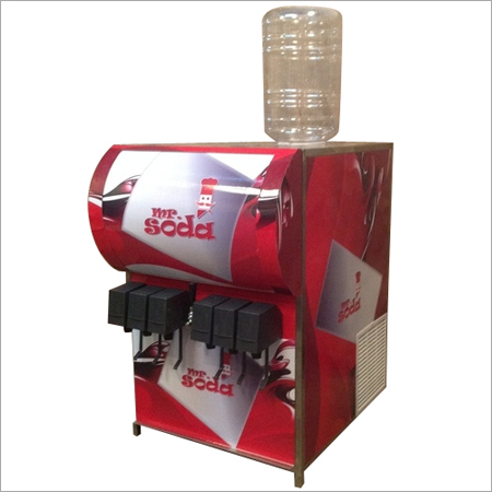 6+1 Soda Machine with Dispenser