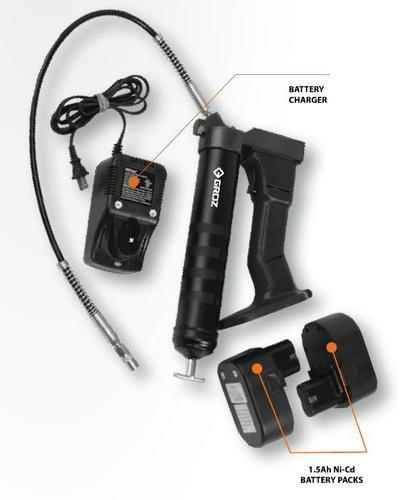 19.2V BATTERY POWERED GREASE GUN