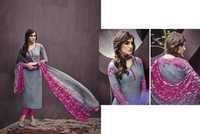 Cotton Jacquard Resham Work Salwar Kameez