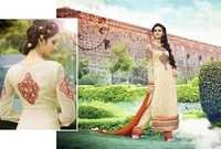 Georgette Embroidered Long Suit