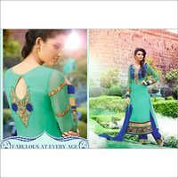 Fabulous Embroidered Georgette Suit