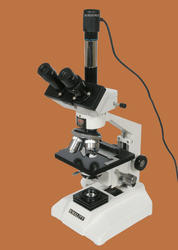 coaxial microscope with camera