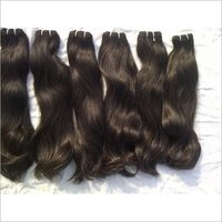 Temple Donated Double Drawn Silky Straight Human Hair