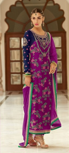 Indian Ladies Suits Fancy Salwar