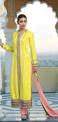 Exotic Floral Pakistani Long Salwar Kameez