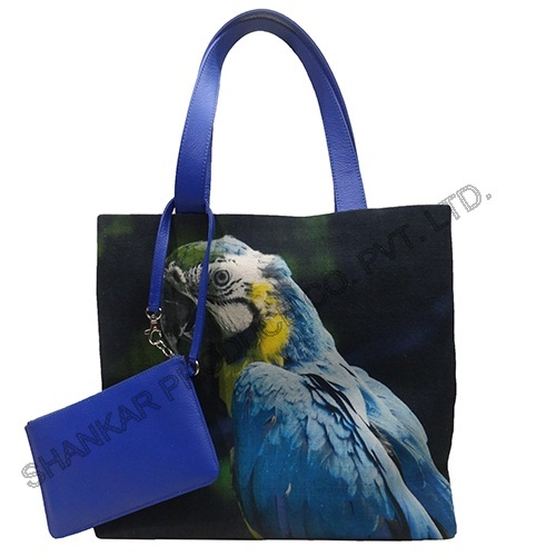 Digital Printed Canvas Tote