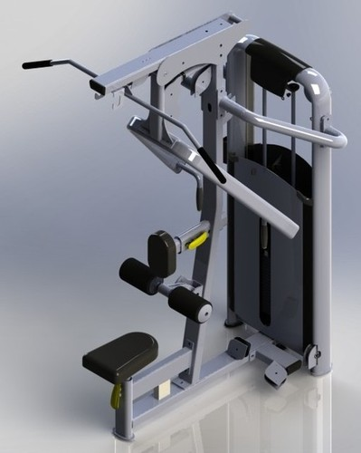 Lat Row Machine