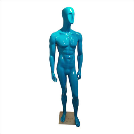 Blue Mannequins