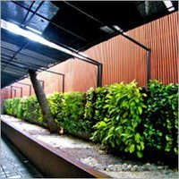 Vertical Garden on Compound wall