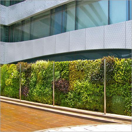 Pool Deck Vertical Gardening