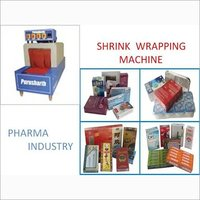 Pharma Industry Shrink Wrapping Machine
