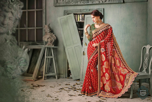 Online Embroidered Sarees