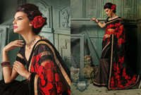 Party Wear Unique Sarees
