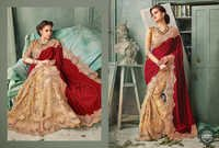 Party Wear Designer Printed Saree