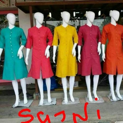 Silk Designer Kurtis in georgette fabric