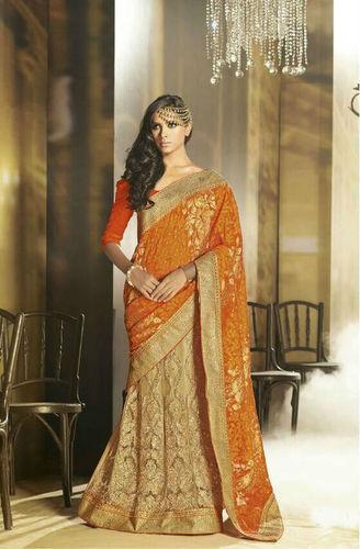 Trendy Saree With New Look Sari
