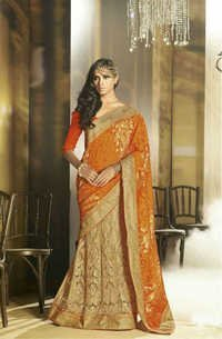 Trendy Saree With New Look Sari
