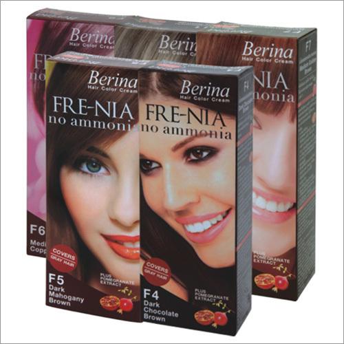 Berina Fre-Nia Hair Color Cream (No Ammonia)