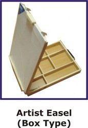 Portable Box Type Easel (Travel Easel)