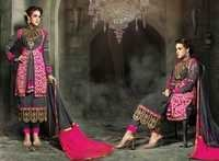 Mohini Gray Embroidered Latest Suit