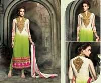 Mohini Sea Green Embroidered  Suit