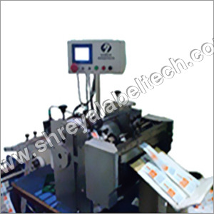 Label Roll to Sheet Cutting Machine