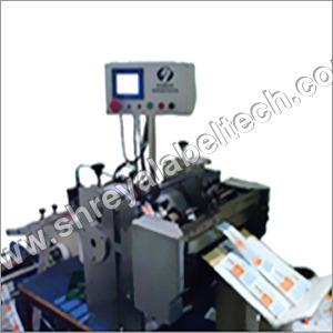 Label Roll to Sheet Cutting Machine