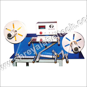 Label Counting & Slitting Machine