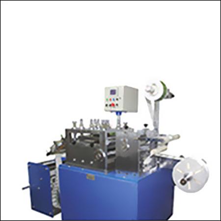 Barcode Printing, Lamination & Punching Machine